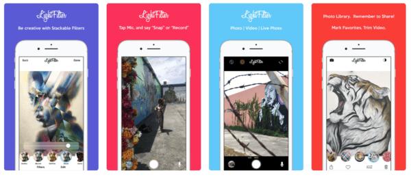 LightFilter Camera 600x259 - Zlacnené aplikácie pre iPhone/iPad a Mac #03 týždeň