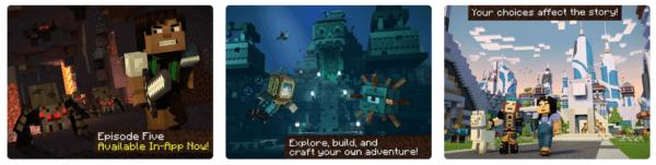 Minecraft Story Mode S2 600x151 - Zlacnené aplikácie pre iPhone/iPad a Mac #04 týždeň