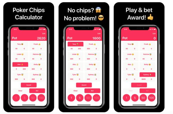 Poker Chips Calculator 600x395 - Zlacnené aplikácie pre iPhone/iPad a Mac #04 týždeň