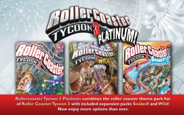 RollerCoaster Tycoon 3 Platinum 600x375 - Zlacnené aplikácie pre iPhone/iPad a Mac #01 týždeň