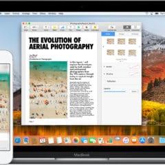 continuity macbook iphone devices icloud macos high sierra 240x240 - Apple vydal macOS High Sierra 10.13.4 s podporou pre eGPU