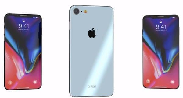 iphone se 2 x concept creator 600x323 - iPhone SE 2 by mohol mať sklenené telo a bezdrôtové nabíjanie