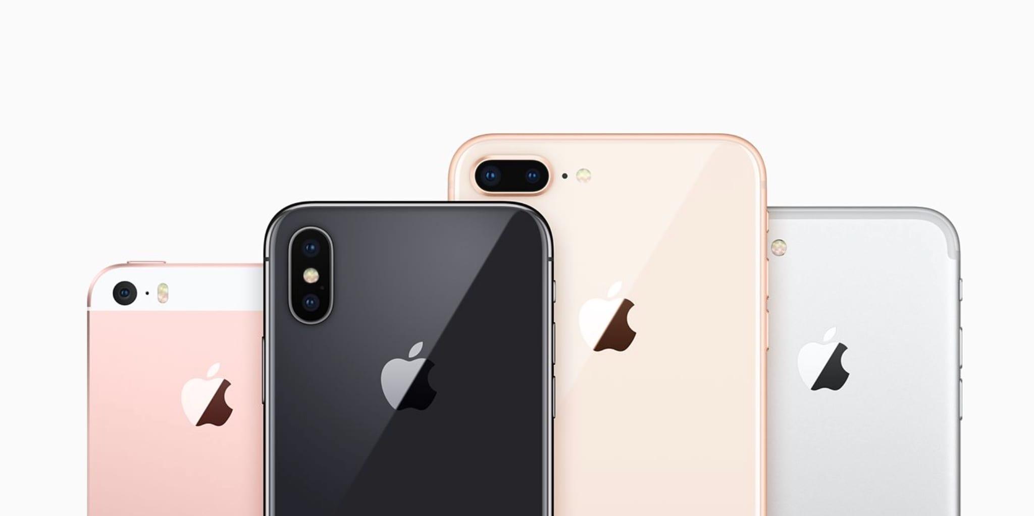 iphone x 8 se compare 2017 - Všetko čo potrebujete vedieť o programe výmeny batérií na iPhone