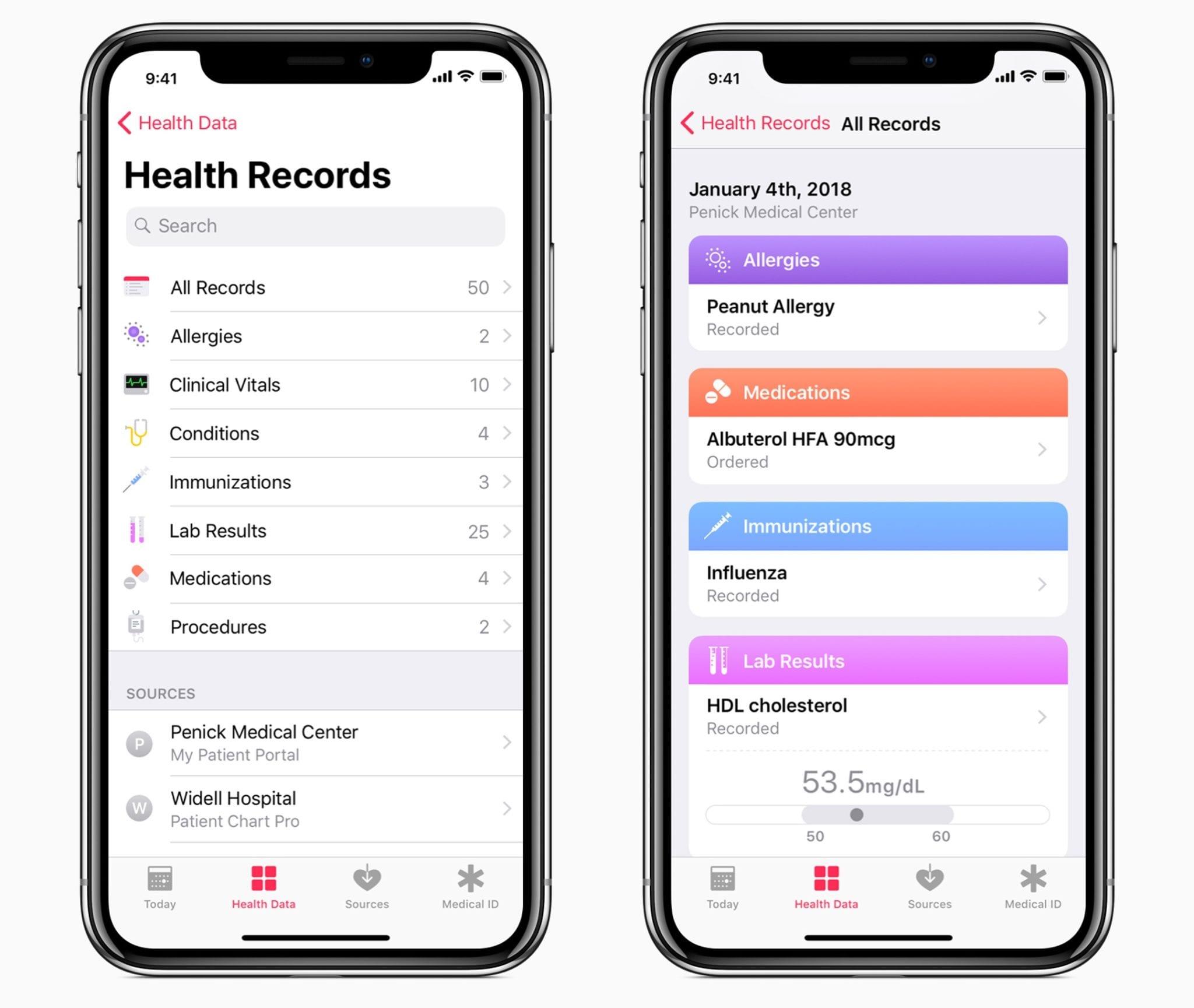 iphone x ios 11.3 health - iOS 11.3 prinesie nové Animoji, info o batérii, novinky pre ARKit, Zdravie a ďalšie