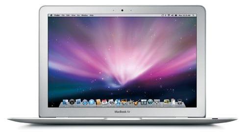 macbook air front - Prvý MacBook Air dnes oslavuje desať rokov