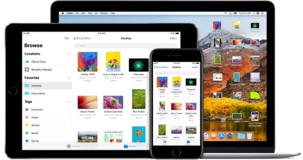 macbook ipad iphone macos high sierra ios 11 icloud files devices 600x318 - DigiTimes: Nové Apple produkty už v marci