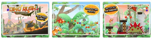 Dino Rush 600x159 - Zlacnené aplikácie pre iPhone/iPad a Mac #13 týždeň