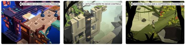 Lara Croft GO 600x150 - Zlacnené aplikácie pre iPhone/iPad a Mac #06 týždeň