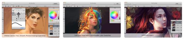 MyBrushes Paint Draw Sketch 600x128 - Zlacnené aplikácie pre iPhone/iPad a Mac #08 týždeň