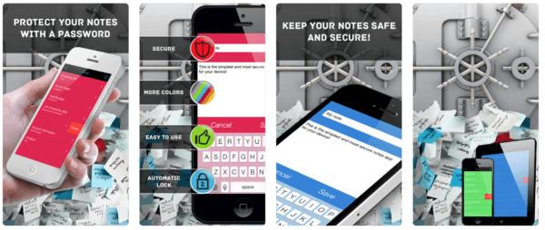 Secure Notes Professional 600x254 - Zlacnené aplikácie pre iPhone/iPad a Mac #06 týždeň