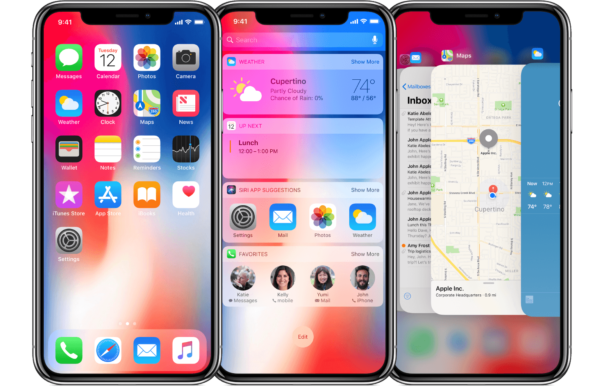 iphone x ios 11 ui 600x387 - Apple prestal podpisovať iOS 11.2.5