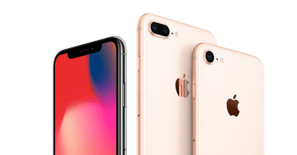 iphone x iphone 8 gold 600x315 - Apple si registroval niekoľko nových iPhonov, vyjsť by mohli už v júni