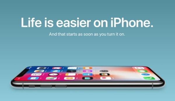 life is easier on iphone x 600x348 - Apple sériou videí opäť láka používateľov Androidu ku kúpe iPhonu