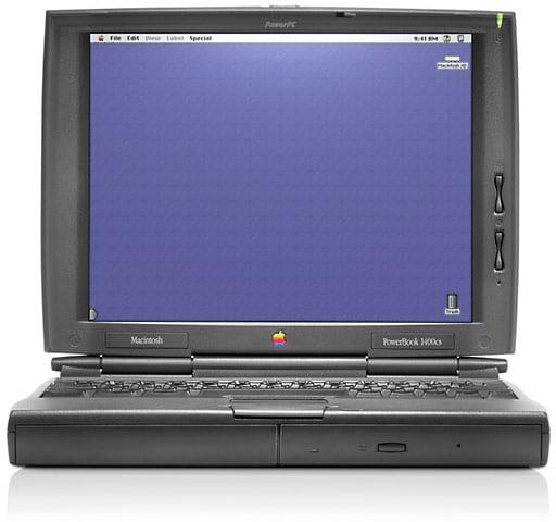 powerbook 1400cs - Spät do minulosti: Apple PowerBook a MacBook