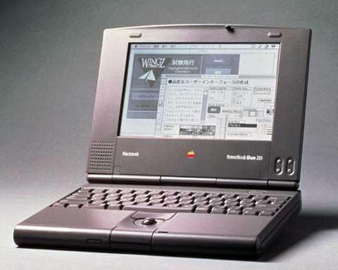 powerbook duo 210 - Spät do minulosti: Apple PowerBook a MacBook