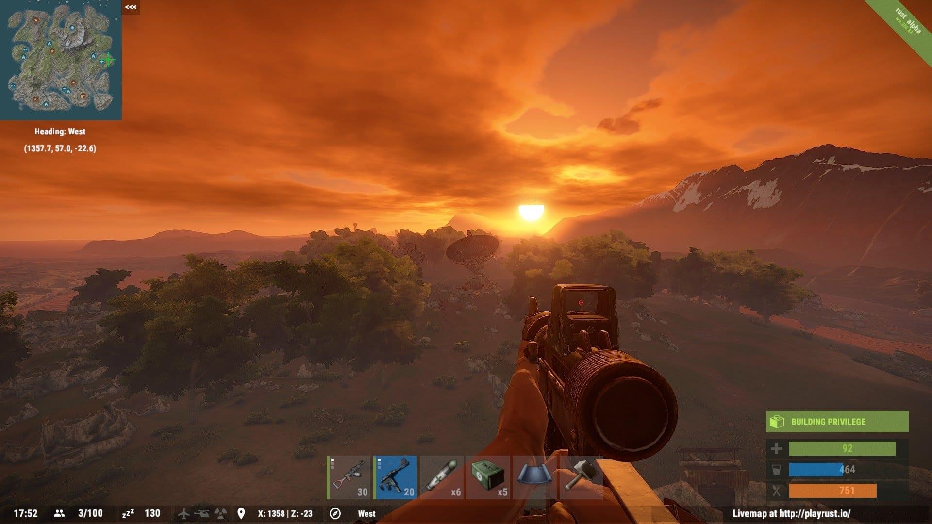 rust gameplay - Hra Rust je už dostupná aj pre Mac