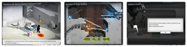 Bridge Constructor Portal 600x153 - Zlacnené aplikácie pre iPhone/iPad a Mac #11 týždeň