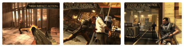 Deus Ex The Fall 600x155 - Zlacnené aplikácie pre iPhone/iPad a Mac #13 týždeň