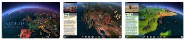 Earth 3D Amazing Atlas 600x132 - Zlacnené aplikácie pre iPhone/iPad a Mac #12 týždeň