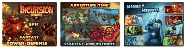 Incursion TD Tower Defense Game 600x156 - Zlacnené aplikácie pre iPhone/iPad a Mac #11 týždeň