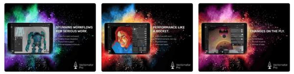 Vectornator Pro 600x151 - Zlacnené aplikácie pre iPhone/iPad a Mac #13 týždeň