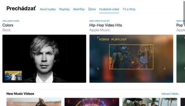 apple music videos itunes 1 600x345 - V Apple Music sa objavila nová sekcia s hudobnými videami