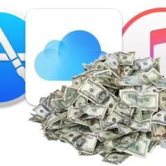 apple services pile of cash macobserver 240x240 - Službám Applu sa darí, najbližších päť rokov budú hlavným motorom príjmov
