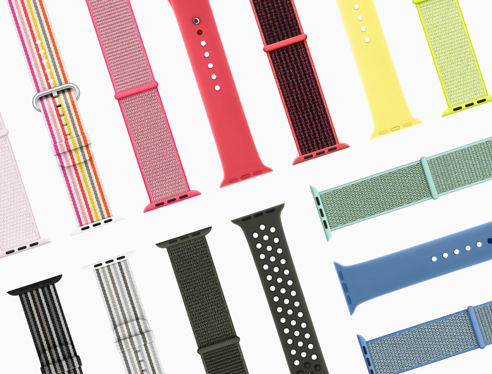 apple watch series3 springbands 032118 - Nový iPad mini nebude, Apple Watch 4 si zachovajú kompatibilitu s remienkami