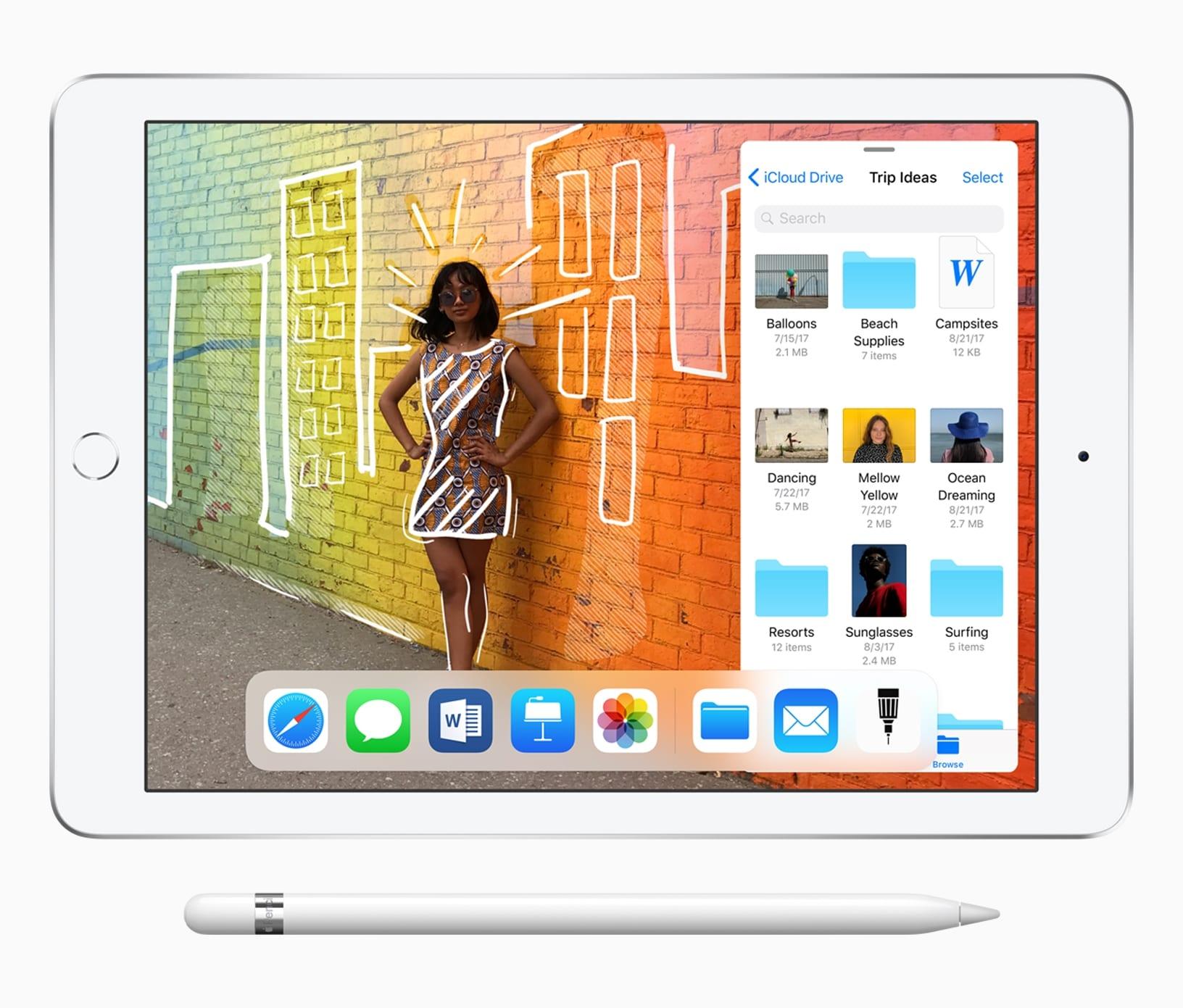 iPad 9 7 inch Pencil Slider 32718 - Apple začína vyrábať nový iPad a AirPods