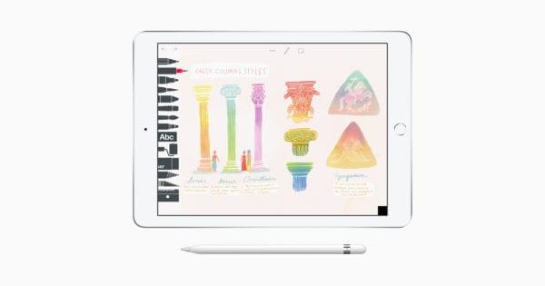 iPad Create Drawing screen 03272018 600x315 - Apple spúšta iniciatívu Everyone Can Create, prinesie kreativitu do školských lavíc