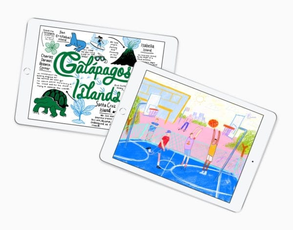 iPad Everyone Can Create photos 03272018 600x471 - Apple pripravuje dva nové iPady, vrátane nového mini