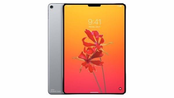 ipad pro face id notch concept 600x338 - Apple si zaregistroval celkovo 10 nových modelov Macu a iPadu