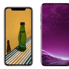 iphone x vs s9 240x240 - Samsung Galaxy S9 a S9+ porazili iPhone X v displeji a fotoaparáte, no vo výkone ďaleko zaostávajú