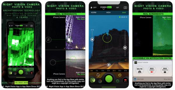 Night Vision 600x309 - Zlacnené aplikácie pre iPhone/iPad a Mac #15 týždeň