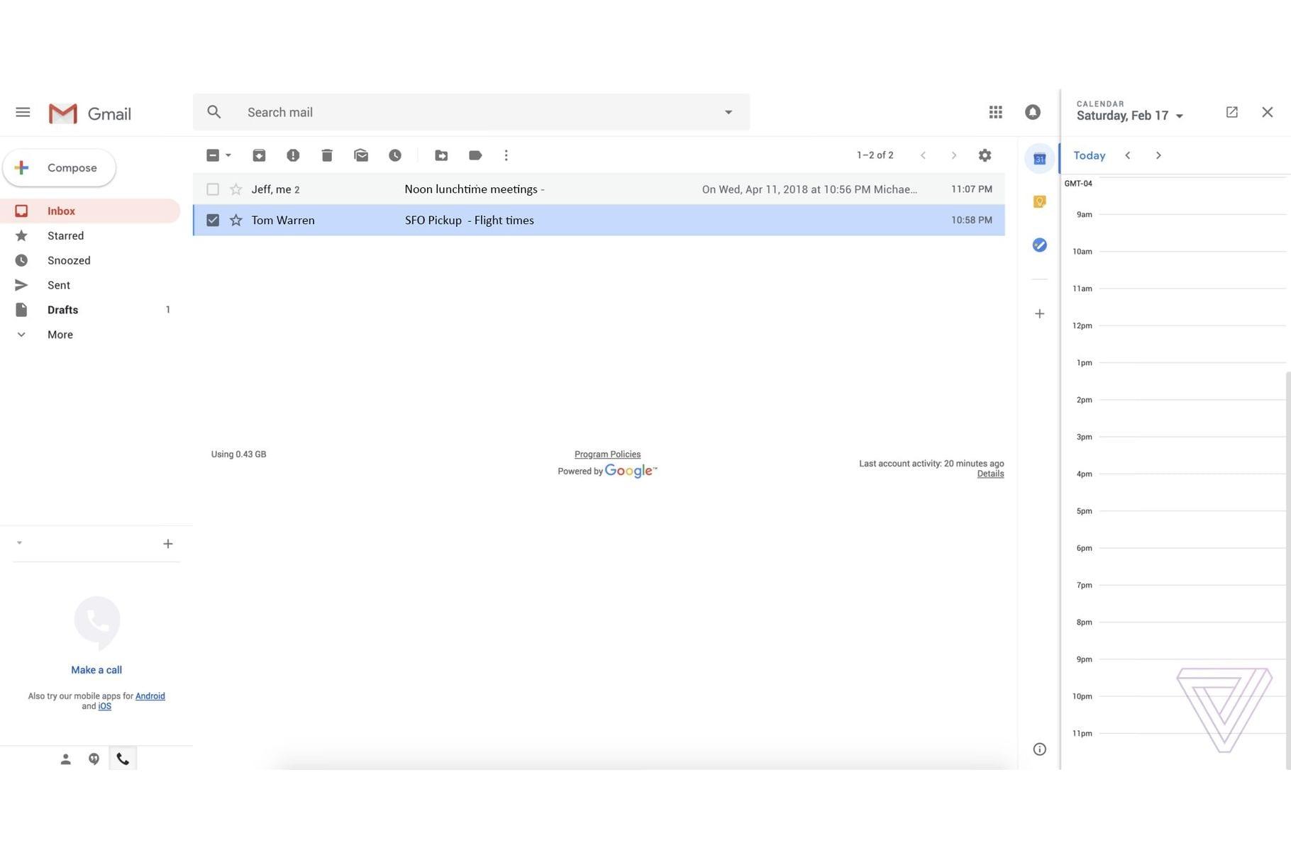 gmail redesign 2018 - Týždeň v skratke: nové iPhony, Deň Zeme, Apple Pay na Slovensku a ďalšie...
