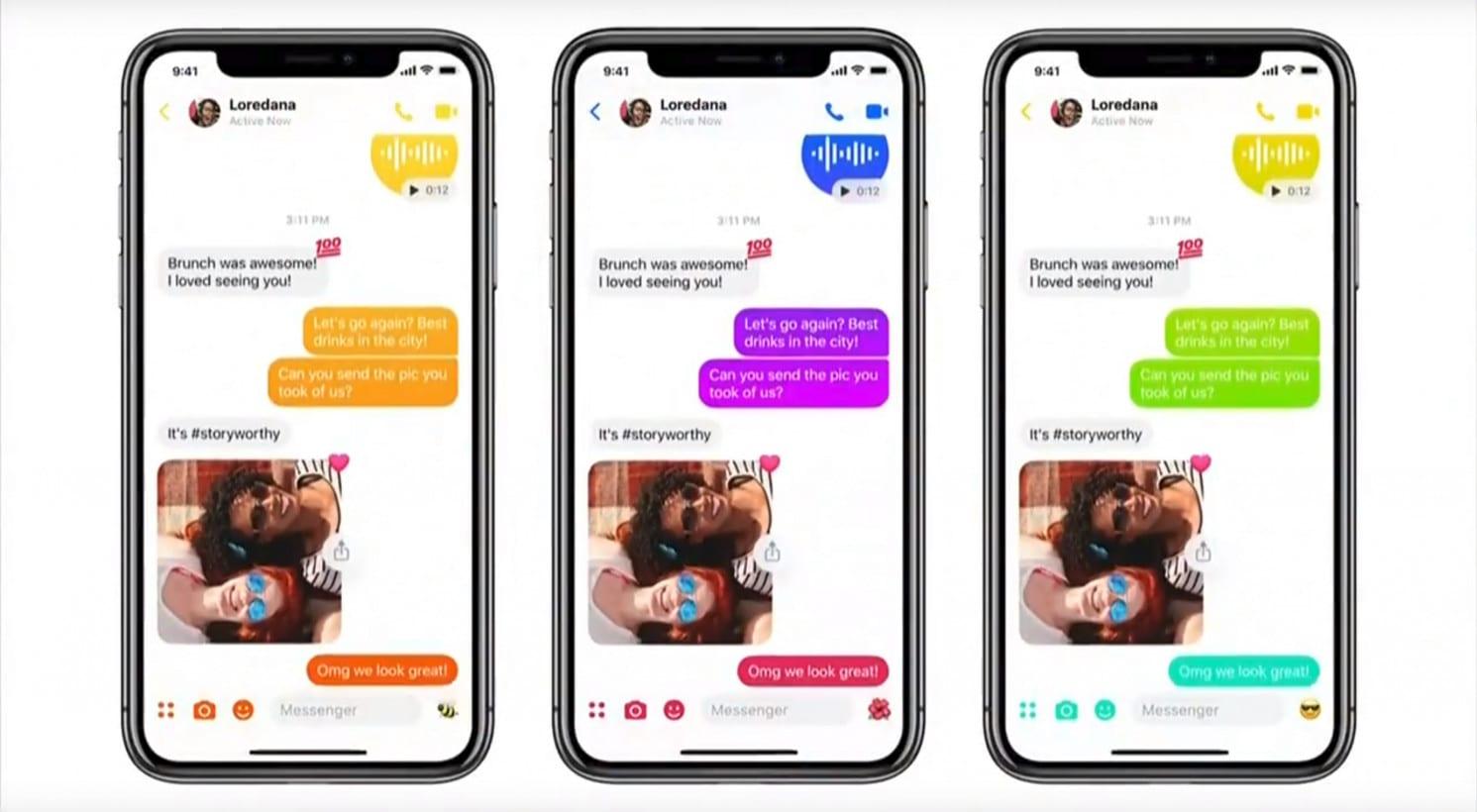 New Facebook Messenger Again - Facebook Messenger dostane zjednodušené rozhranie, tmavú tému a ďalšie novinky