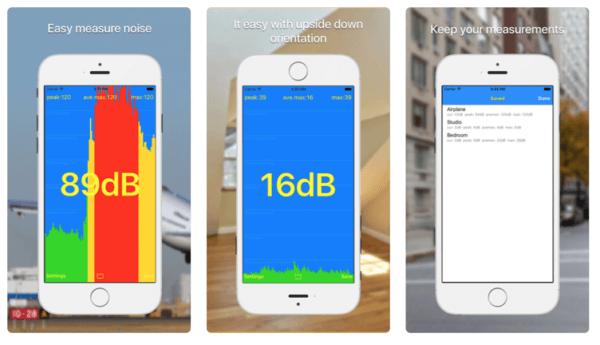 dB meter 1 1 600x345 - Zlacnené aplikácie pre iPhone/iPad a Mac #19 týždeň