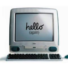 iMac Hello Again 240x240 - iMac oslavuje 20 rokov
