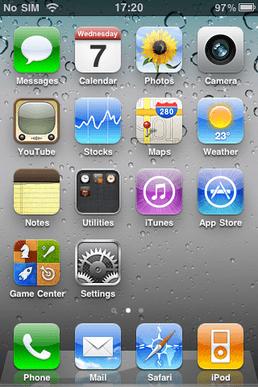 iOS 4 - Okienko do minulosti: História iOS