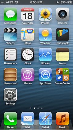iOS 6 - Okienko do minulosti: História iOS