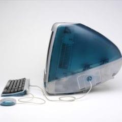 imac bondi blue side 240x240 - Presne pred 20 rokmi Apple predstavil prvý iMac