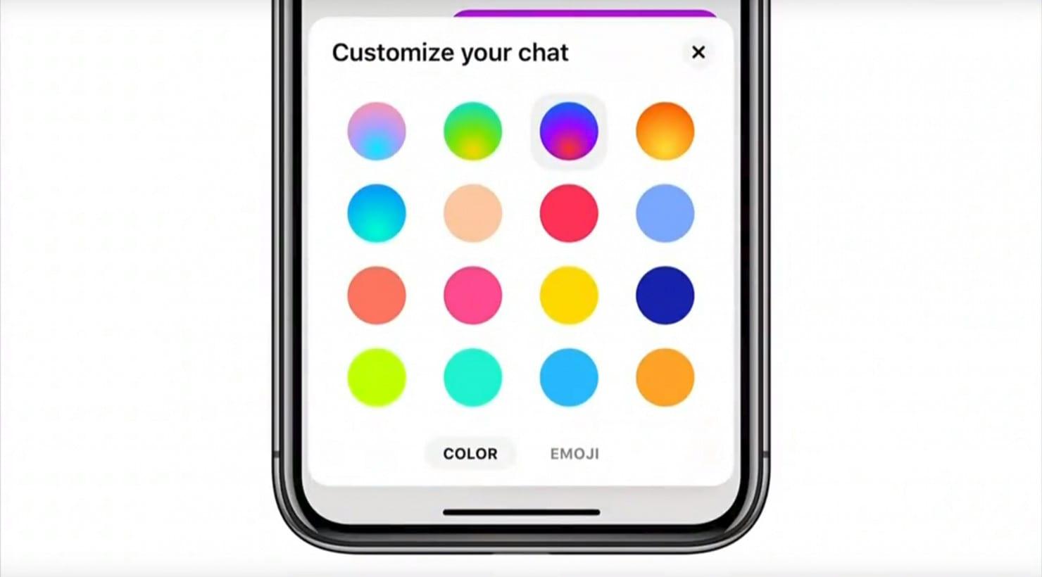 new Messenger Gradient 2 - Facebook Messenger dostane zjednodušené rozhranie, tmavú tému a ďalšie novinky