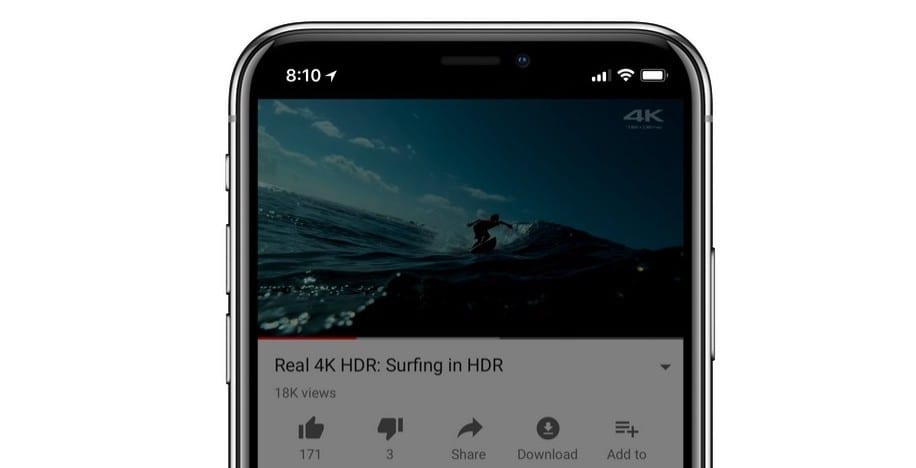 iphone x hdr youtube