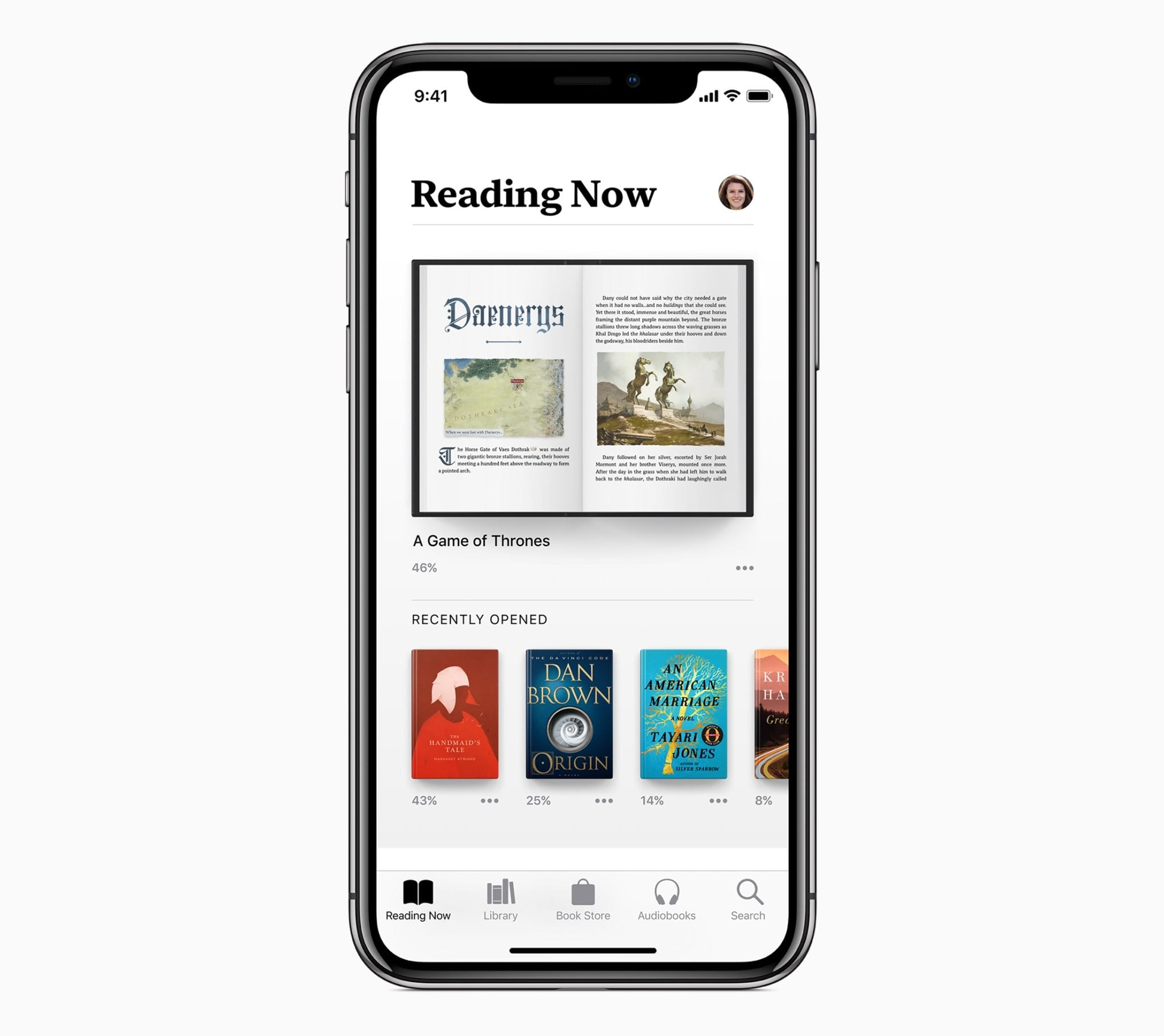 apple books reading now ios 12