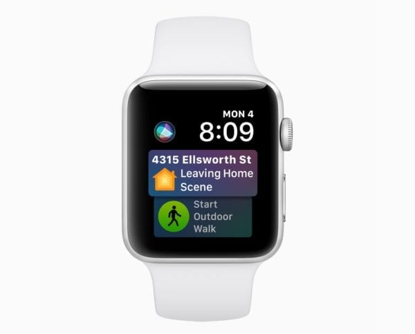 Apple watchOS 5 Siri Face screen 06042018 600x483 - Apple vydal watchOS 5.0.1