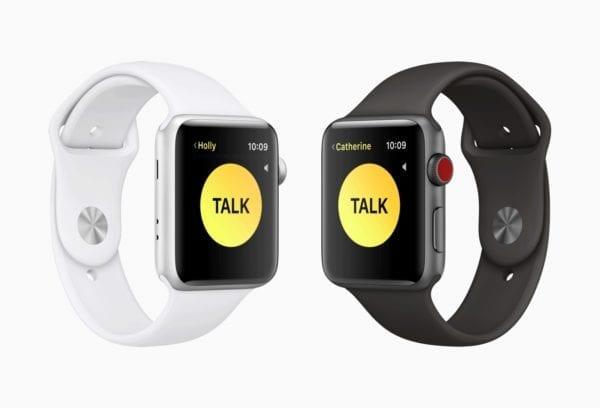 Apple watchOS 5 walkie talkie screen 06042018 600x408 - Druhá beta watchOS 5 je vonku, prináša aplikáciu Walkie-Talkie