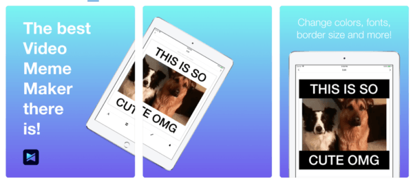 Video Meme Maker 600x266 - Zlacnené aplikácie pre iPhone/iPad a Mac #24 týždeň