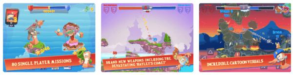 Worms 4 600x154 - Zlacnené aplikácie pre iPhone/iPad a Mac #25 týždeň