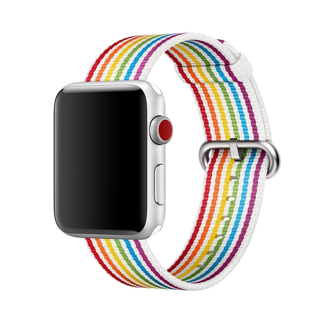apple watch pride band - Apple predstavil nové pastelové obaly a náramky, pestré farby pre Beats