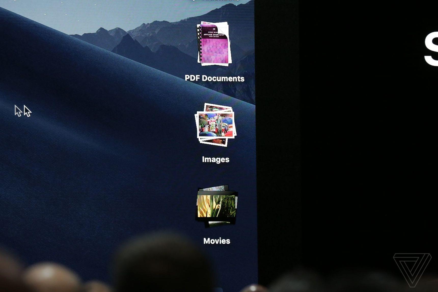 apple WWDC 2018 3535 - macOS Mojave: redizajnovaný App Store, vylepšený Finder, tmavý mód a nové aplikácie